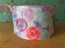 "🎀 Roses Floral Pastel 75mm 3"" Grosgrain Ribbon 🎀"