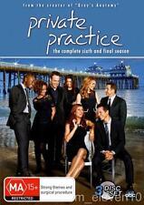 PRIVATE PRACTICE Season 6 : NEW DVD