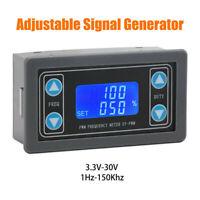 1Hz~150kHz PWM Signal Generator Pulse Frequency Adjustable Module Test Equipment