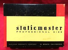 Vintage Staticmaster Nuclear Products Record & Lens Cleaner