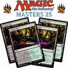 MTG 4 X TWILIGHT MIRE - Cenagal crepuscular - MASTERS 25 ENGLISH Magic