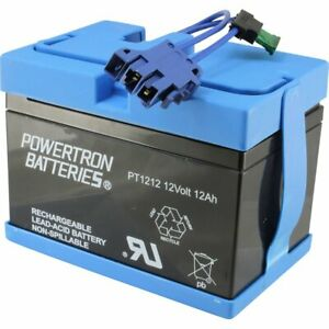 Peg Perego Replacement 12V Battery for John Deere Tractor Ride-on-Toy