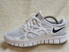 Nike Free Run 2 mens trainers White/Black UK 7 EUR 41 US 8