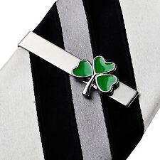 Shamrock Irish Tie Clip