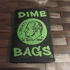 Dime Bags Hemp Smell Proof Storage Bag  Replacement Velcro Patch