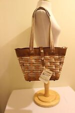 Longaberger To Go Small Shopping Tote Purse/Bag - New!