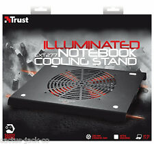 TRUST 19142 GXT277 COOLING STAND COOLER FOR NOTEBOOK LAPTOP UP TO 17.3""