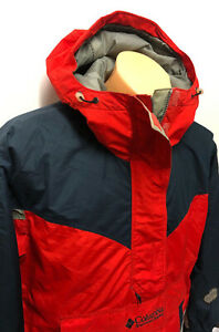 Vintage Columbia Sportswear Company Jacket Red size womens Large 90s pullover