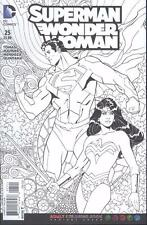 Superman Wonder Woman #25 Adult Coloring Bool Var  NEW!!!