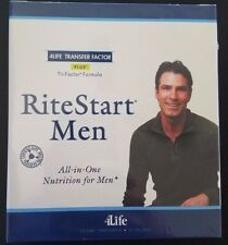 4LIFE ** RiteStart MEN TRI-FACTOR FORMULA **(1 BOX) 30 PACKETS *FREE SHIPPING
