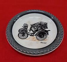 VETERAN CARS PLATE 1889 BENZ MADE BY WADE OF ENGLAND SERIES 1 NUMBER 1