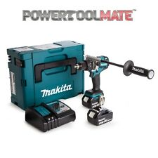 Makita DHP481RTJ 18V LXT Brushless Combi Drill with 2 x 5.0Ah Batteries & Case