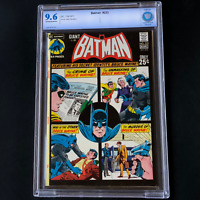 "BATMAN #233 (1971) 💥 CBCS 9.6 OW-W PGs 💥 ""Murder Of Bruce Wayne"" 64 Page Giant"