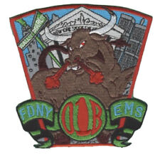 FDNY EMS Emergency Medical Service Division 01B Patch.