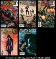 Bullseye: Greatest Hits 1 2 3 4 5 Complete Set Run Lot 1-5 VF/NM