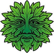 Green Man Adesivo. wicca pagan wicca STREGONERIA