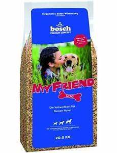 Bosch My Friend Hundefutter Adult Trockenfutter Kroketten-Mix Vollwertkost 20 kg