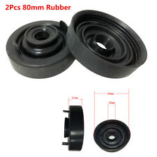 2Pcs 80mm Rubber Bulb Seal Housing Dust Cover For Car LED HID Headlight Retrofit