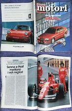 GENTE MOTORI 1991 4,Alfa 33 S 16v permanent 4,accordo Fiat-ministero ambiente #f