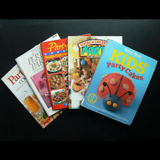 5x Party Cookbook food drink entertaining dinner kids birthday cake decorating