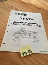 Yamaha YFA1W Breeze Quad instruction preparation setup manuel montage