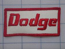 Vintage  DODGE  patch     car    auto    racing   van    trucker   1