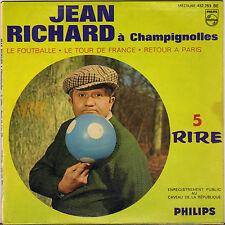 "JEAN RICHARD ""A CHAMPIGNOLES"" EP 60'S PHILIPS 432.763"