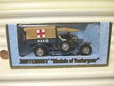 MATCHBOX LESNEY YESTERYEAR Y13 DARK TAN Roofs 1918 CROSSLEY RAF TENDER CHR24 MiB