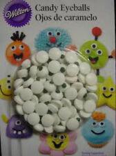 WILTON standard COMMESTIBILE CANDY ZUCCHERO Eyeballs per cupcake torta dolci decorazione