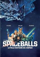 Spaceballs (DVD, 2012, English with Subtitles in Spanish and French) Never Open