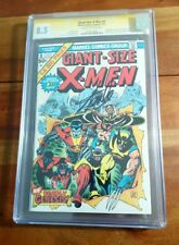 Giant-Size X-Men #1 1975 CGC Signed Stan Lee 8.5 1st Storm Colossus Nightcrawler