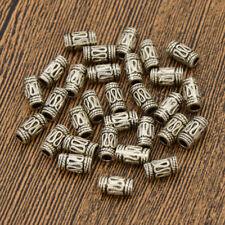 30pcs Silver Viking Dreadlock Hair Braid Beads Waves Vintage Cuff Metal Clip