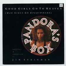 (V573) Pandora's Box, Good Girls Go To Heaven - 1990 - 7 inch vinyl