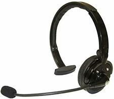 Bluetooth Wireless Trucker Headset Mic Noise Suppression Voice Dialing New