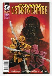STAR WARS Crimson Empire #2of6 DARK HORSE COMIC BOOK Darth Vader 1998 newsstand
