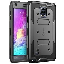 Samsung Galaxy Note 4 Case Armorbox Dual Layer Full-body Tough Screen Protector
