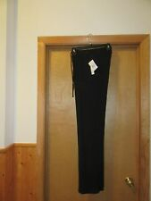 Women's Relax Soft Pants size MD Joe B ,Ribs Black Elastic waist 2 pockets NWT