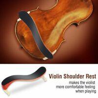 Adjustable Violin Shoulder Rest Maple Wood For 3/4 4/4 Size Violin Fiddle Player