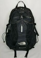 TNF North Face Recon Black Ergonomic Backpack Outback Daypack Hiking Laptop Bag