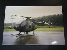 Photo Hughes 500M #H-205 Danish Army Open Dag KLu Vlb Gilze-Rijen 1997