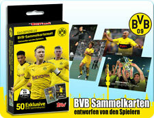 Topps Borussia Dortmund 2020 Sammelkarten Set BVB 50 Trading Cards