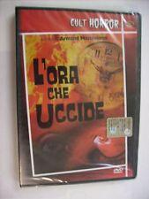 L'ORA CHE UCCIDE - DVD SIGILLATO PAL - HORROR - PERRY KING - BARBARA QUINN