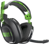 ASTRO A50 Wireless Headset and Base Station for X box One  and PC Green Black