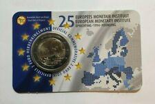2 Euro Münze Belgien 2019 ° 25. Jahre Gründung des Währungsinstitut ° nl