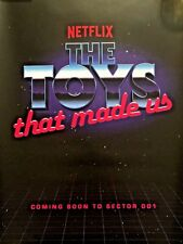 SDCC 2018 Exclusive Netflix The Toys That Made Us Promo Poster