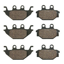 Front & Rear Brake Pads 2006-2015 Bombardier / Can Am Ds250 Ds 250 (Fits: Bombardier)