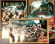 Lego Game: Heroica Castle Fortaan Build Ins, Map & Rules -3860- NOT GAME