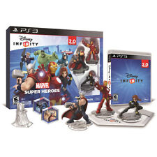NEW PS3 Disney INFINITY Marvel Super Heroes 2.0 Edition Video Game Starter Pack