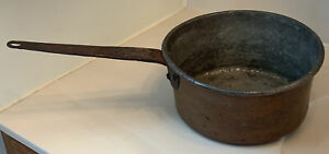 Antique Copper Pot with Dovetail Bottom