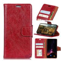 Luxury Genuine Premium Leather Wallet Case Cover Flip Folio For iPhone 8 7 Plus